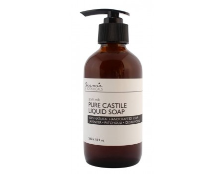 LIQUID CASTILE SOAP  (Lavender/Patchouli/Cedarwood)