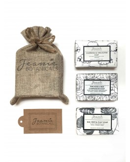GIFT SET A: HANDCRAFTED SOAP SET